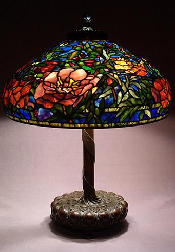 Tiffany lamp shades handmade by scott riggs large tiffany shades aloadofball Gallery