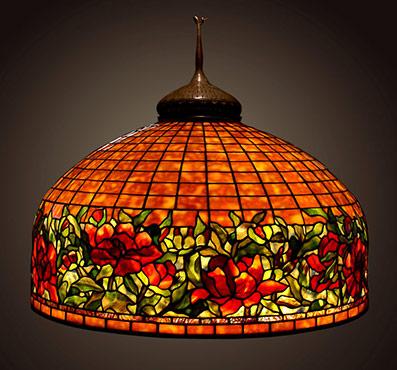 Extra large tiffany lamp shades mozeypictures Gallery
